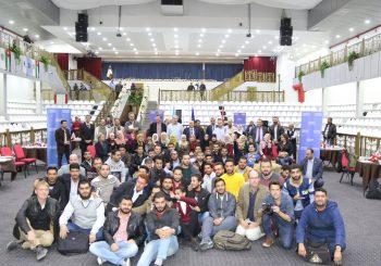 زيارة رؤساء تحرير الصحف الاوروبية لجامعة الزرقاء