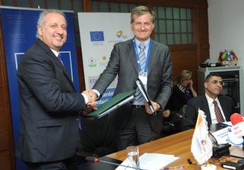 توقيع عقد EDU-Syria II في مركز الاتحاد الأوروبي في عمان