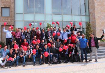 طلاب EDU-SYRIA يزورون شركة بترا للتكييف
