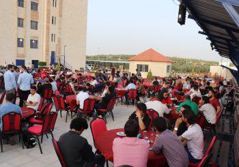 مأدبة إفطار لطلاب EDU-SYRIA