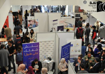 برنامج EDU SYRIA يشارك في المعرض الوظيفي في الجامعة الألمانية الأردنية