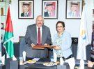 الجامعة الألمانية الأردنية توقع اتفاقية برنامج منح التعليم السوري الأردني مع جامعة الزرقاء