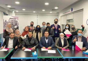 """طلاب برنامج التعليم السوري/ الأردني يحصلون على المركز الثاني في """"هالت"""""""