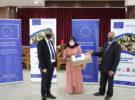 مشروع التعليم السوري/ الأردني  يسلم أجهزة لابتوب لطلبته في جامعة الزرقاء