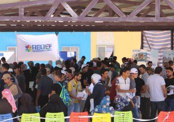 EDU-SYRIA Participate in the Jordanian Universities Exhibition in Al-Azraq Camp