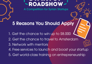 The Startup Roadshow 2018 – A Competition for Syrian Startups