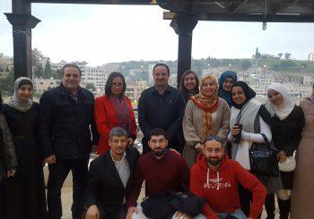 EDU-SYRIA team meets Social work students