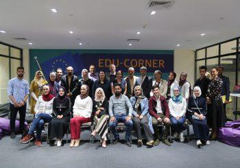 """""""Madad"""" Fund Deputy manager visit EDU-SYRIA at LTUC"""