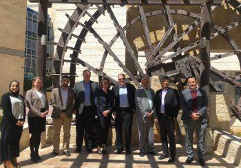 A Delegation from Reykjavik University in Iceland Visits GJU