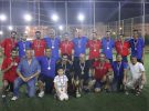 A friendly match between EDU-SYRIA students and faculty team