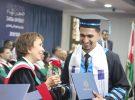 Princess Basma Sponsors the Graduation of Zarqa University