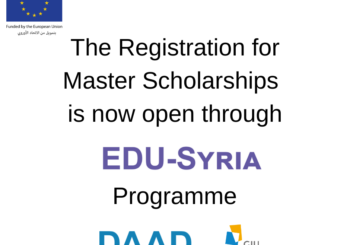 Registration for Master's Scholarship 2020 is Now Open